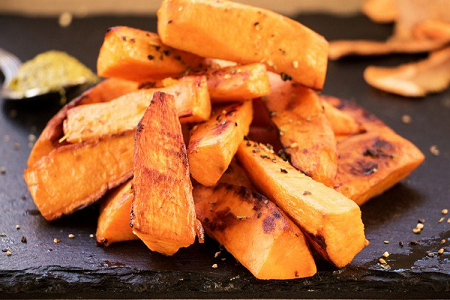 السعرات الحرارية في البطاطا الحلوة