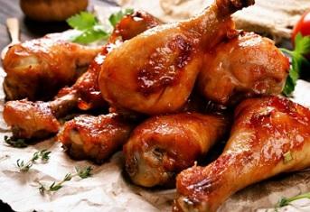 السعرات الحرارية في الدجاج المقلي