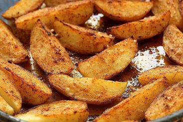 السعرات الحرارية في البطاطس المشوية