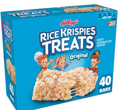 السعرات الحرارية في أرز الكريسبي كلوقز