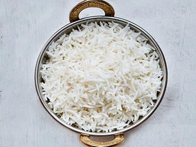 السعرات الحرارية في الرز الابيض الطويل