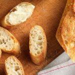 السعرات الحرارية في الخبز الفرنسي