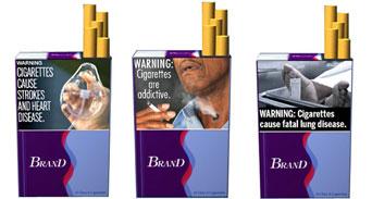 علامات تحذيرية جديدة على علب السجائر ابتداءً من 22 يونيو