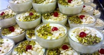 كشك الفقراء حلويات العرس الشامي
