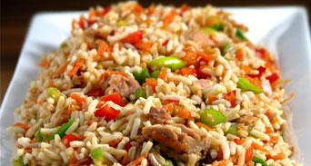 طريقة إعداد الخضار بالأرز الأسطنبولي