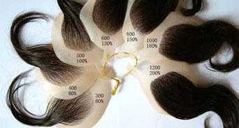 كيف يمكنك زيادة كثافة الشعر الخفيف؟