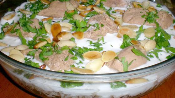 تعلمي طريقة إعداد فتة الدجاج اللبنانية