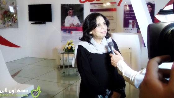 ليلى فهمي: الجميع سيشعر بنتائج مؤتمر الحياة الصحية في الرياض