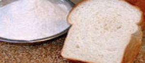 دقيق الخبز الأبيض