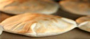 خبز بيتا عربي قطر 17 سم