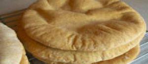 خبز بيتا بالقمح الكامل 17 سم