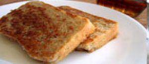 خبز توست فرنسي منزلي