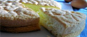 الكعكة الاسفنجية منزلية الصنع