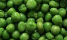 بازلاء خضراء مسلوقة أو مجففة