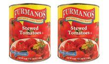 الطماطم أو البندورة المطهية والمعلبة