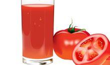 عصير الطماطمأو البندورة