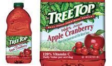 عصير التوت البري و التفاح