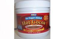الشوكولاه الساخنة ( بودرة الأسبارتيم + ماء)