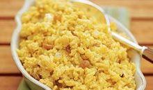 السعرات الحرارية في الرز المطبوخ