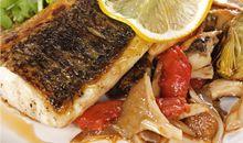 سمك القاروس المخبوز و المشوي