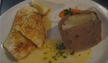 سمك الحدوق مخبوز أو مشوي