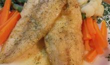 سمك الكراكي مخبوز أو مشوي