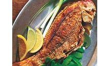 سمك النهاش مخبوز أو مشوي
