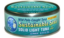 سمك التونة الخفيف معلب مملح