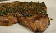 شريحة لحم البقر قليلة الدهون ومشوية