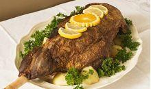 لحم ساق أمريكية طازجة قليلة الدهون مطبوخة