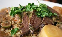 لحم بقري مطهو ببطء