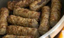 نقانق– لحم ديك رومي- مطبوخة