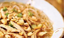السعرات الحرارية في شعيرية الدجاج قليلة الدهون