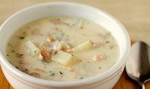شوربة حساء المحار نيو انجلاند