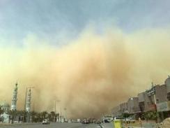 430 حالة اختناق في نجران بسبب الغبار والعوالق الترابية