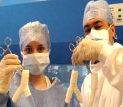 نجاح أول عملية جراحية لزراعة قصبة هوائية في العالم