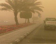 تأهب في مستشفيات الرياض بسبب موجة غبار وأتربة مستمرة منذ يومين