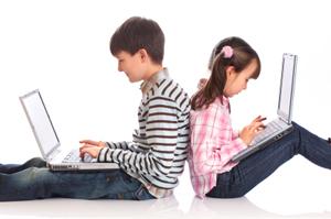 الإدمان على الانترنت يغير تركيبة الدماغ عند الأطفال