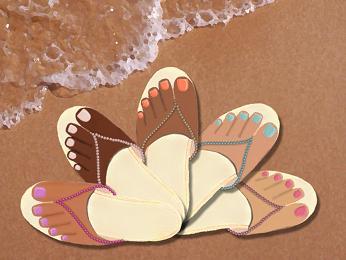 دراسة: الأحذية ذات الأصبع قد تسبب سرطان الجلد