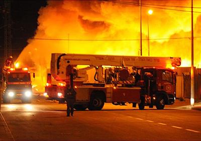 إضرام حريق في مستشفى بالمنوفية للتستر على الاختلاسات