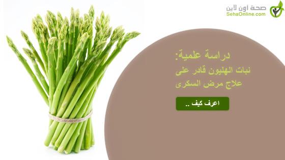 دراسة علمية نبات الهليون قادر على علاج مرض السكرى
