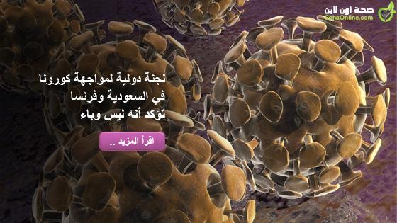 لجنة دولية لمواجهة كورونا في السعودية وفرنسا تؤكد أنه ليس وباء