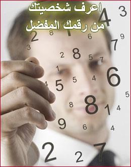 اختبار تحليل الشخصية من الرقم المفضل